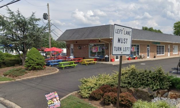 Sundae World in Lansdale fouls inspection; Rodent like droppings observed in dry storage areas and behind some equipment in retail area, 2 gallons of refrigerated ice cream mix expired