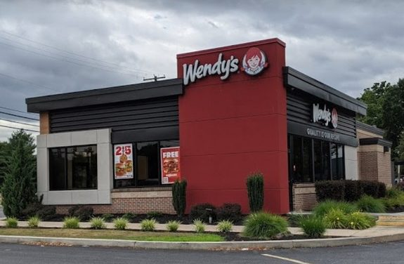 Inspection Wendy's in Middletown; 18 violations, black mold-like residue on deflector plate of  ice machine, rust around the opening of the ice machine, both soda dispensing machines have residue accumulation