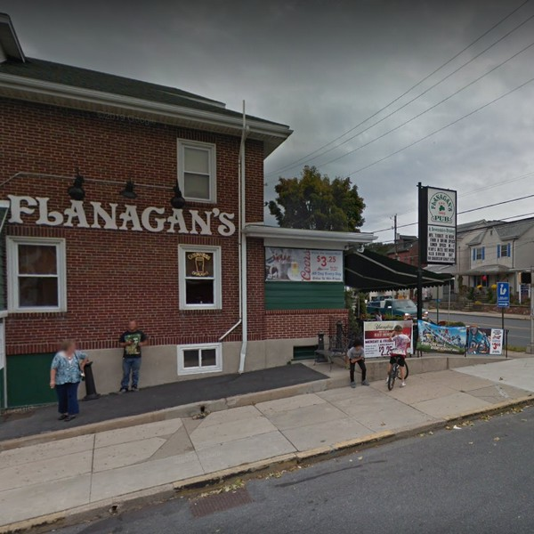Inspection Flanagan's Pub in Shillington finds rodent activity in dry storage areas, Salad bar and dessert bain marie refrigerators have a mold build up around door gasket and frame areas