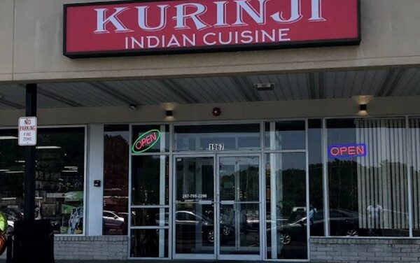 16 violations Kurinji Indian Cuisine in Maple Glen; in-use utensils in room temperature stagnant water, Mask issue, Can opener blade unclean with food debris