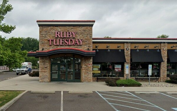 Ruby Tuesday in Langhorne complaint inspection finds pasta salad (Ham and Pea) at an unsafe temperature, employee drink on prep counter while preparing food