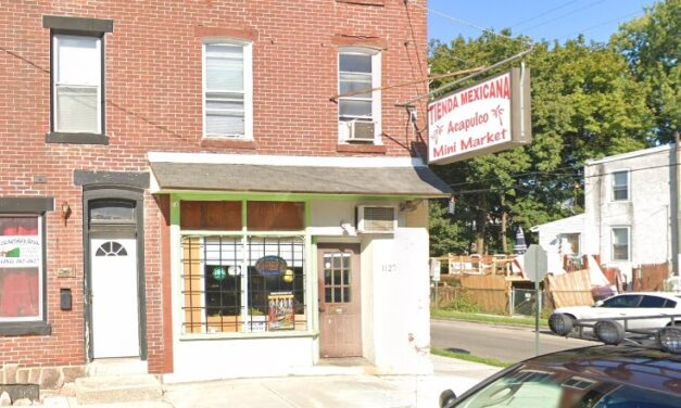 Inspection Acapulco Mini Market in Norristown; Rodent-like droppings observed kitchen, Fly-like insects observed in kitchen, 13 violations