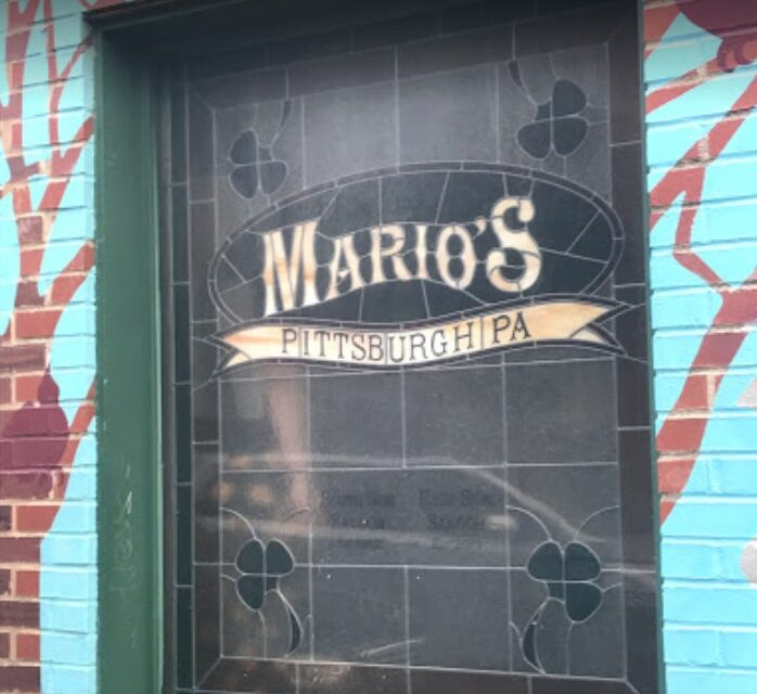 "Mario's East Side Saloon in Pittsburgh inspection; 9 violations, ""Old mouse droppings observed in the following areas: dry storage, cabinets of lower bar, servers station, shelving of 2nd level bar."""