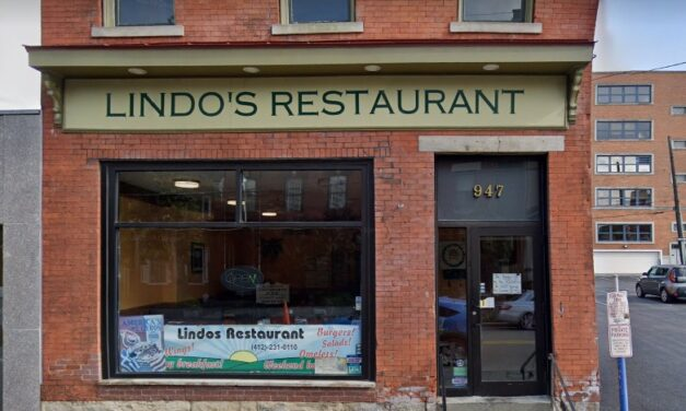 Inspection at Lindo's Restaurant Pittsburgh; 16 violations, Old rodent droppings found under coffee station by register, Chemical dishwasher is not sanitizing