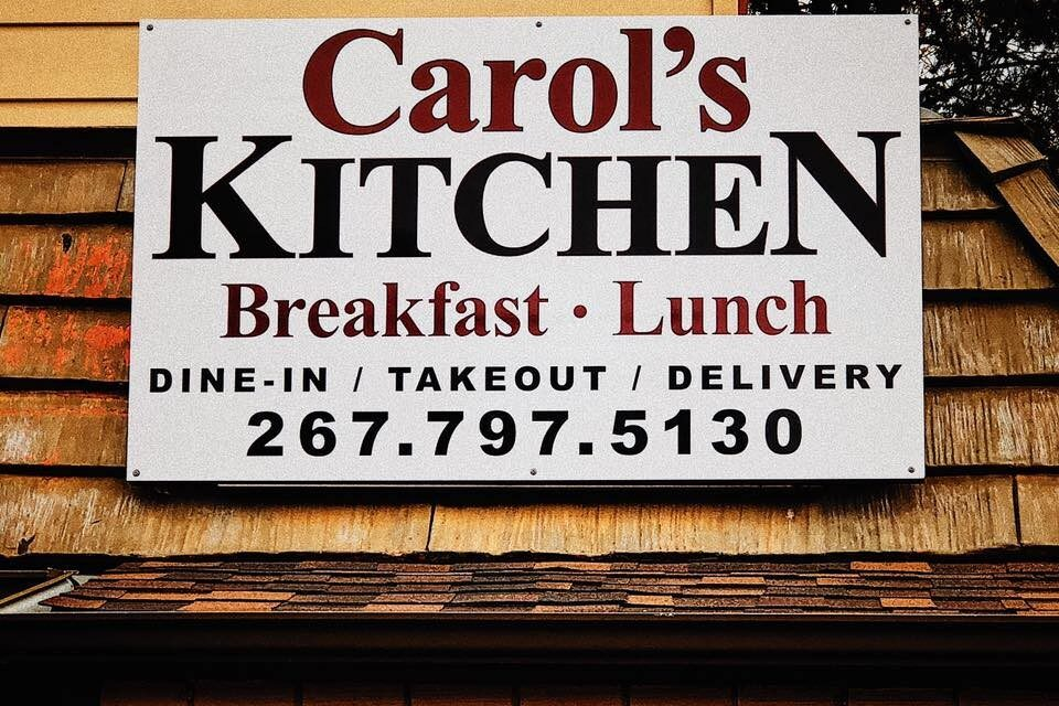 Inspection at Carol's Kitchen in Morrisville; Food workers observed using bare hands for preparing ready to eat food