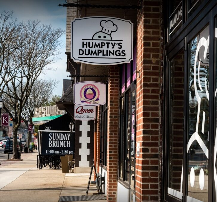 Humpty Dumplings in Glenside fouls inspection; 13 violations, Rodent-like droppings observed on floor of facility along perimeters and under shelving/equipment
