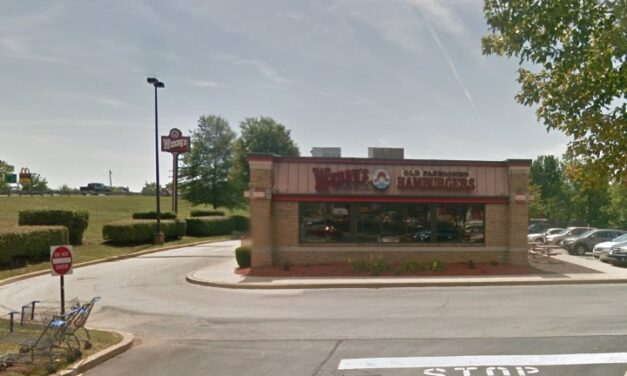 Pottstown Wendy's inspection finds backsplashes of  drive through soda machine and lemonade machine unclean with debris