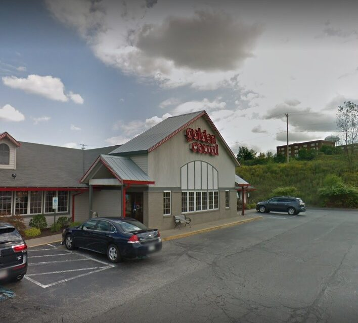 Golden Corral in Robinson TWP fumbles inspection; Roof leak observed near the back end ice machine, Food was not being kept under temperature control